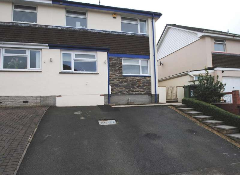 3 Bedrooms Semi Detached House for sale in Grieg Drive, Barnstaple
