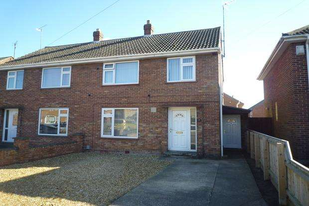 3 Bedrooms Semi Detached House for sale in Grosvenor Road, Wisbech, PE13