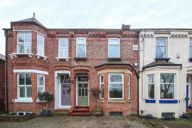 4 Bedrooms Terraced House for sale in Moorside Road, Flixton, Manchester, M41