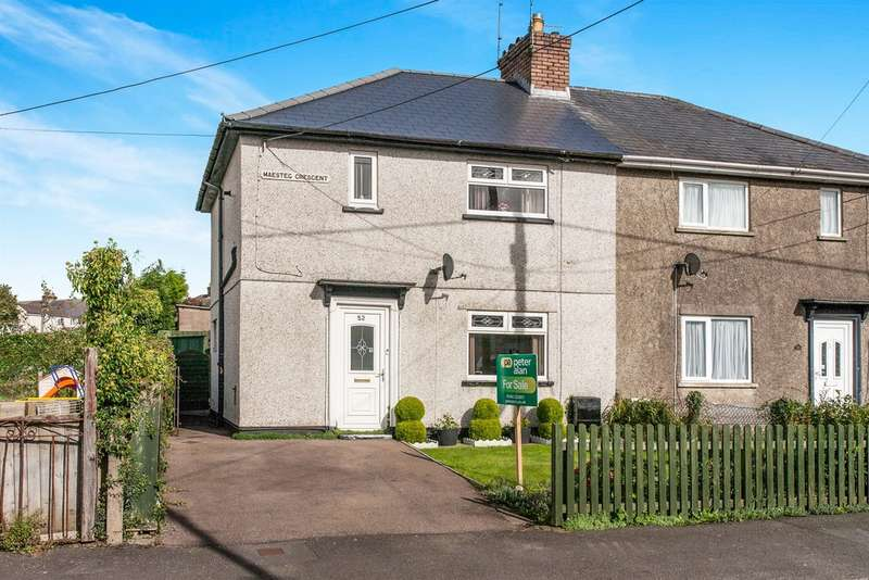 3 Bedrooms Semi Detached House for sale in Maesteg Crescent, Tonteg, Pontypridd