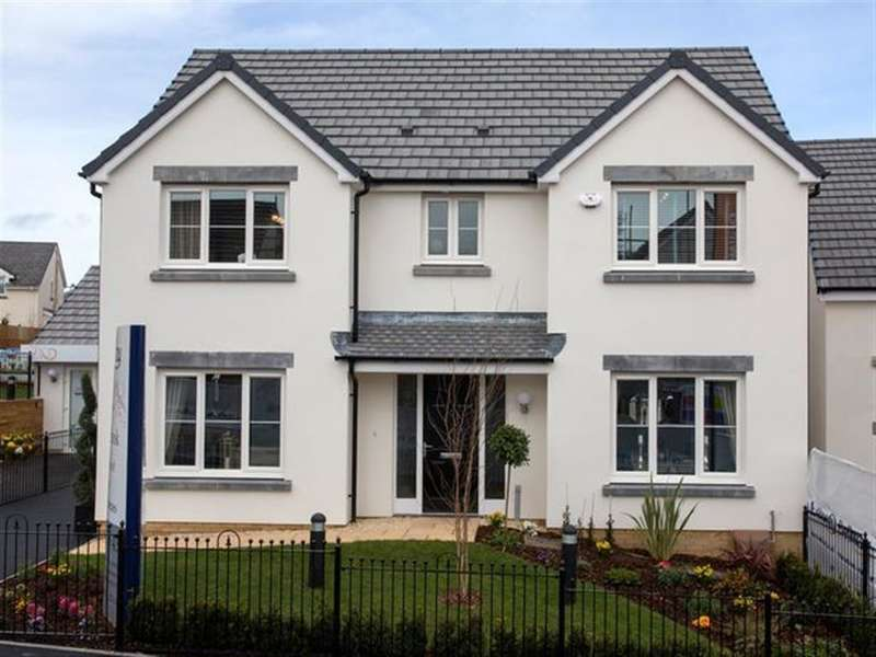 4 Bedrooms Detached House for sale in Badgers Brook Rise, Ystradowen, Cowbridge