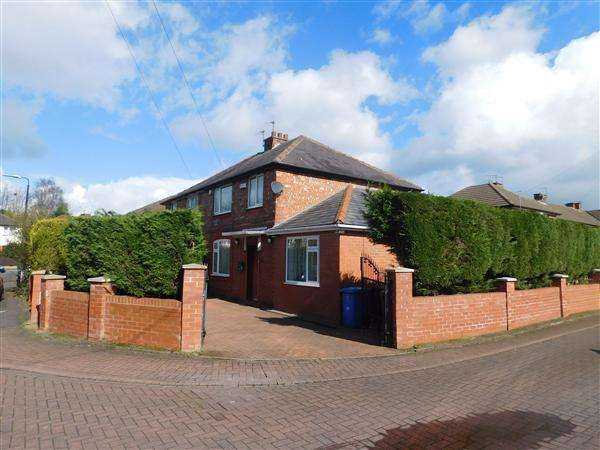 4 Bedrooms Semi Detached House for sale in Kings Grove, Stretford, Manchester
