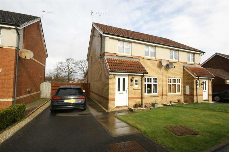 3 Bedrooms Semi Detached House for sale in Wallace Brae Drive, Reddingmuirhead, Falkirk