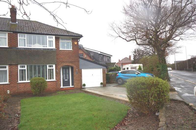 3 Bedrooms Semi Detached House for sale in Cross Road, Heald Green, Cheadle, Cheshire SK8