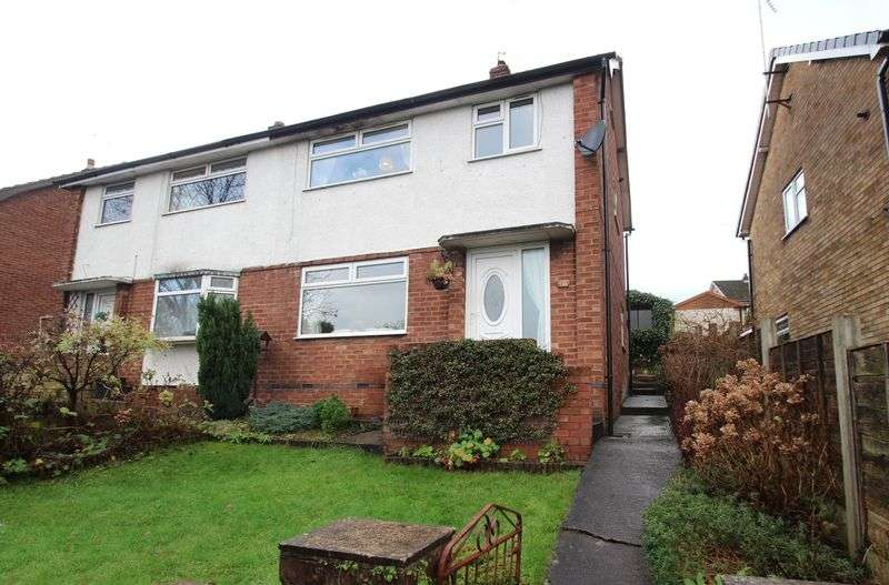 3 Bedrooms Semi Detached House for sale in St. Christophers Drive, Romiley