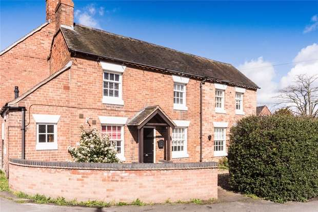 3 Bedrooms Cottage House for sale in The Green, Whittington, Lichfield, Staffordshire