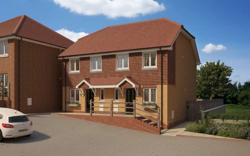 2 Bedrooms House for sale in 5 Bartram Close, Pulborough, West Sussex, RH20