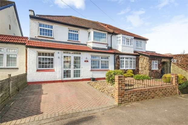 4 Bedrooms Semi Detached House for sale in Orchard Way, Sutton, Surrey