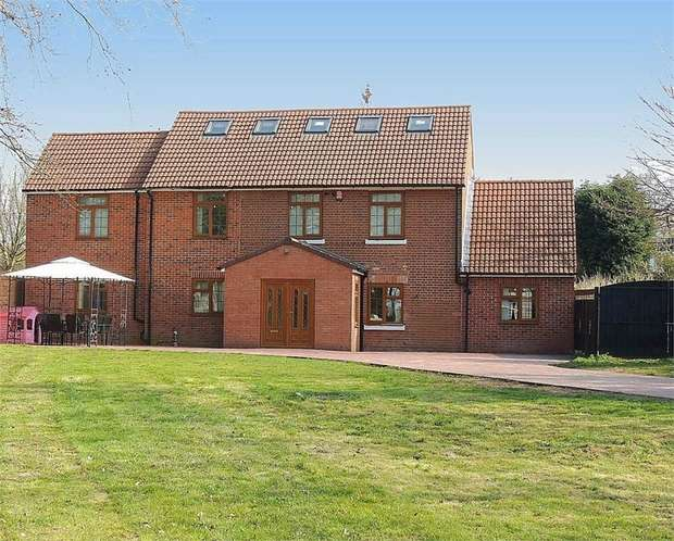 5 Bedrooms Detached House for sale in Bradnocks Marsh Lane, Hampton-in-Arden, Solihull, West Midlands