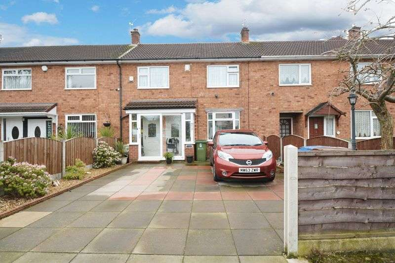 3 Bedrooms Terraced House for sale in Mottram Close, Cheadle