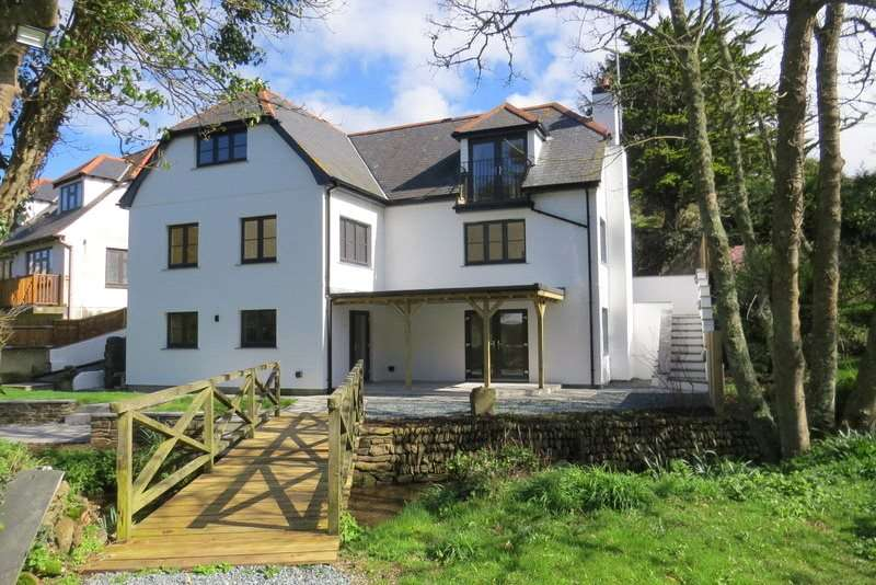 4 Bedrooms Detached House for sale in Perrancombe, Perranporth