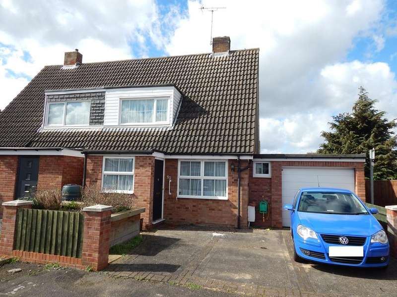 2 Bedrooms Semi Detached House for sale in Chase Close, Arlesey, SG15 6UU