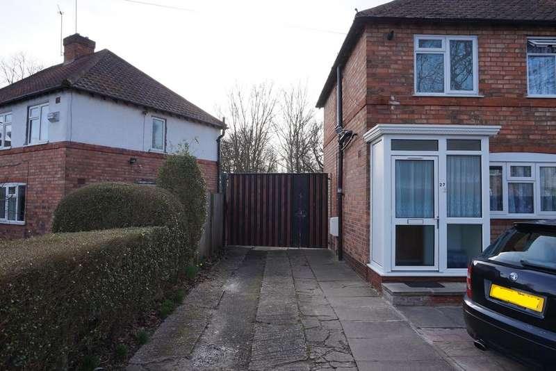 2 Bedrooms Semi Detached House for sale in Pollard Road, Acocks Green, Birmingham, B27 7EN