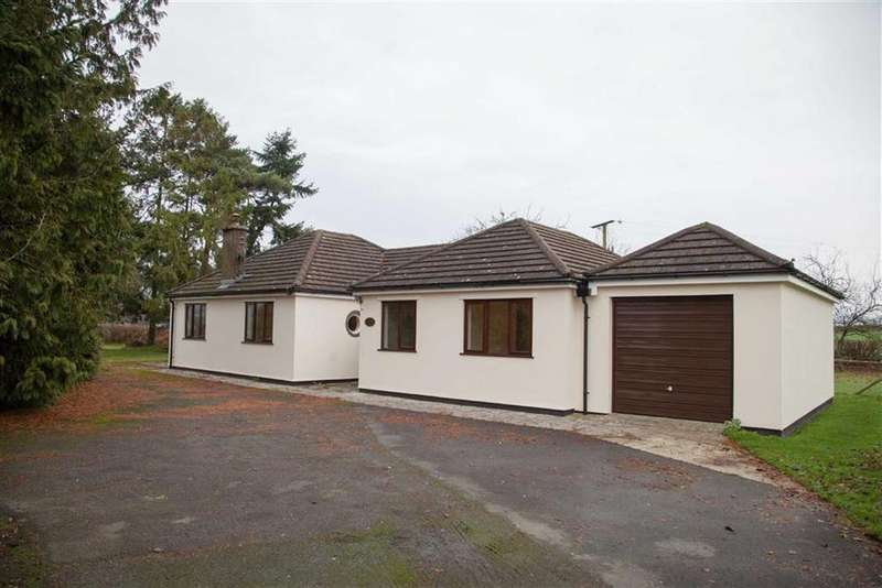 3 Bedrooms Detached Bungalow for sale in WALTON, Presteigne, Powys