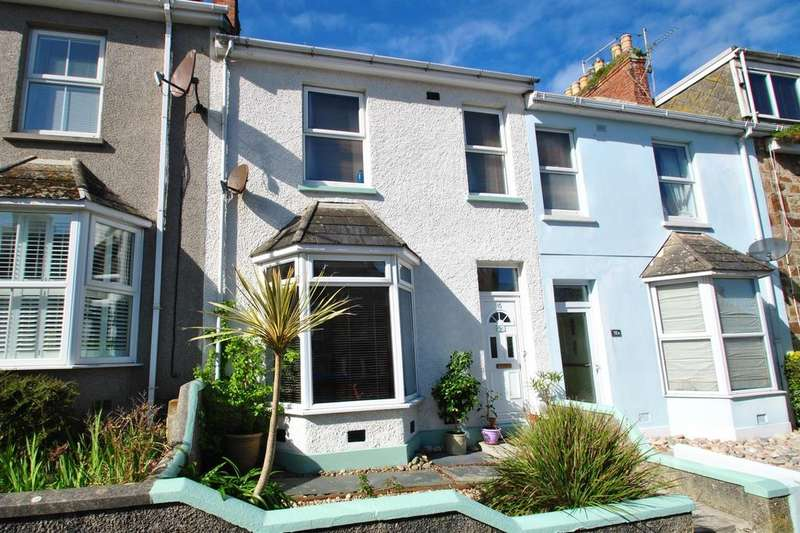 3 Bedrooms Terraced House for sale in St. Johns Road, Newquay
