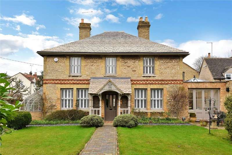4 Bedrooms Detached House for sale in Mill Street, Ryhall, Stamford, Lincolnshire