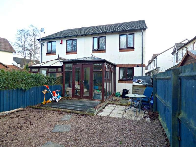 3 Bedrooms Semi Detached House for sale in Slanns Meadow, Kingsteignton, TQ12 3GA