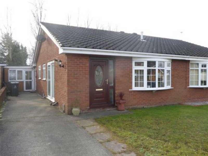 2 Bedrooms Semi Detached Bungalow for sale in Erlas Park Road, Goulbourne, Wrexham