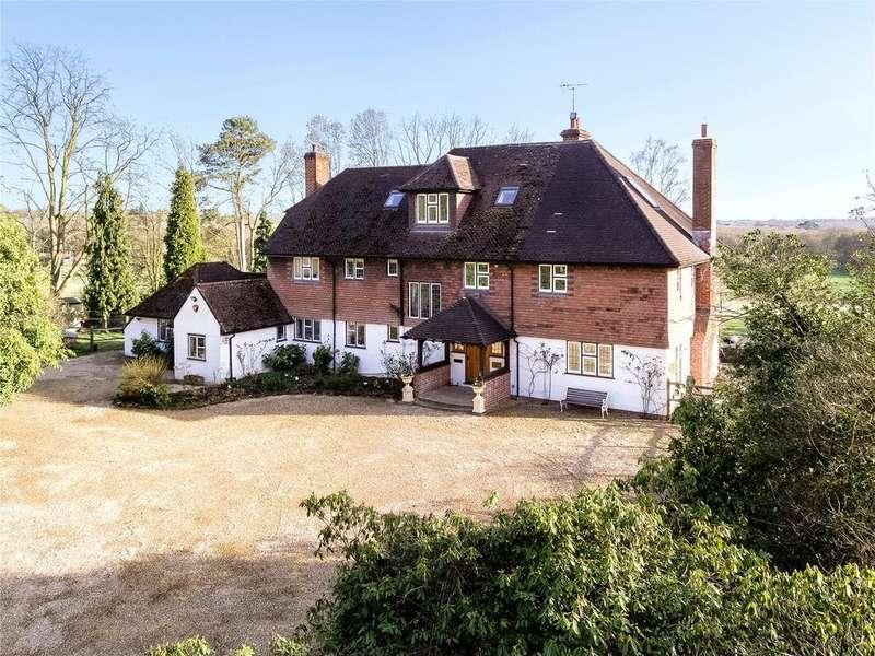6 Bedrooms Detached House for sale in Vann Lake Road, Ockley, Dorking, Surrey