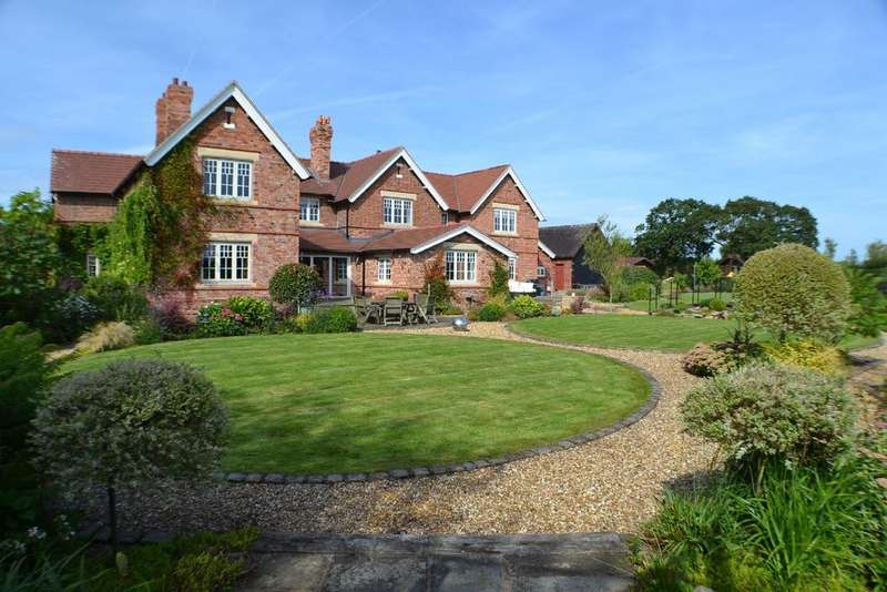7 Bedrooms Detached House for sale in White Hall Lane, Warmingham