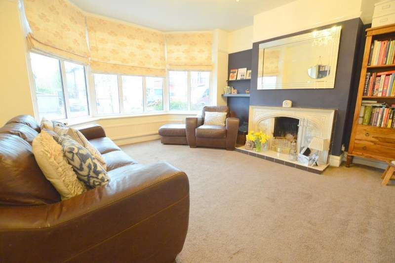 3 Bedrooms Semi Detached House for sale in Cutenhoe Road, South Luton, Luton, LU1 3NQ