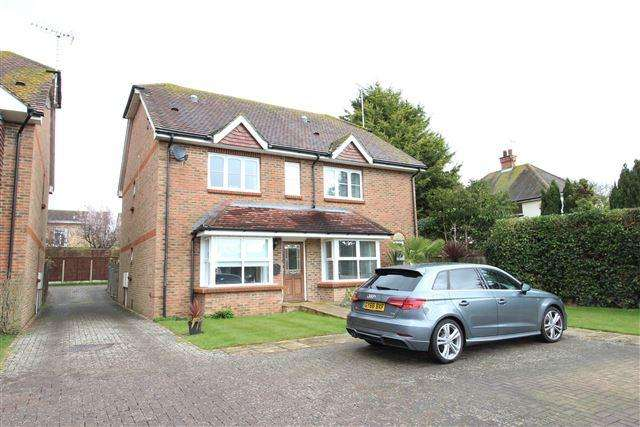 4 Bedrooms Semi Detached House for sale in Bramble Lane, Worthing, West Sussex, BN13 3JE