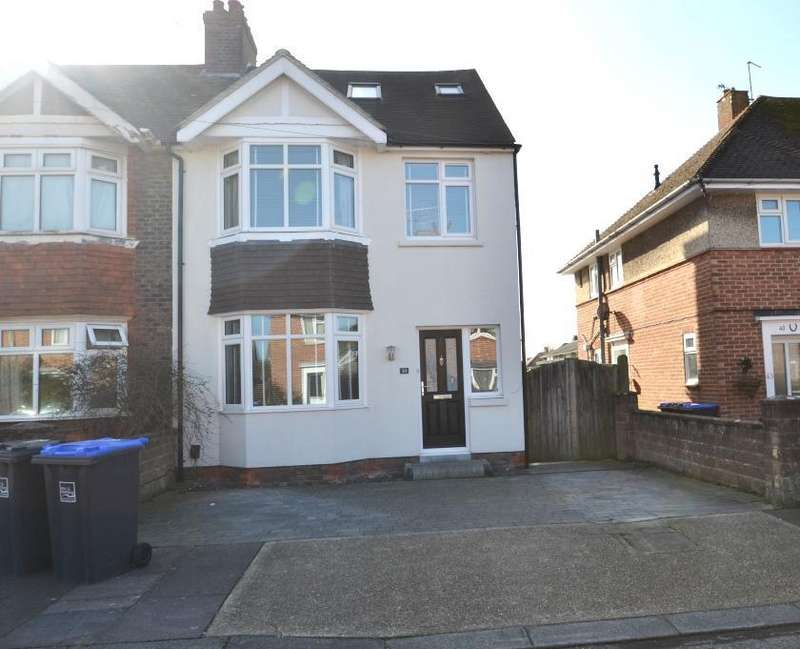 4 Bedrooms Semi Detached House for sale in Mardale Road, Worthing, BN13 2AY