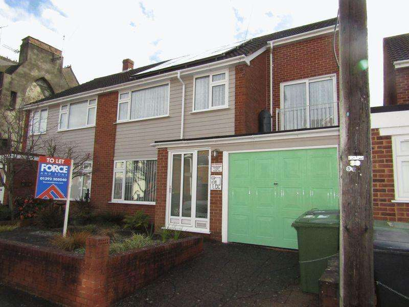 4 Bedrooms Semi Detached House for rent in Princes Street North, Exeter