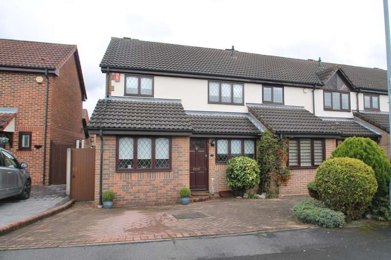 3 Bedrooms End Of Terrace House for sale in EXMOOR CLOSE, BARKINGSIDE