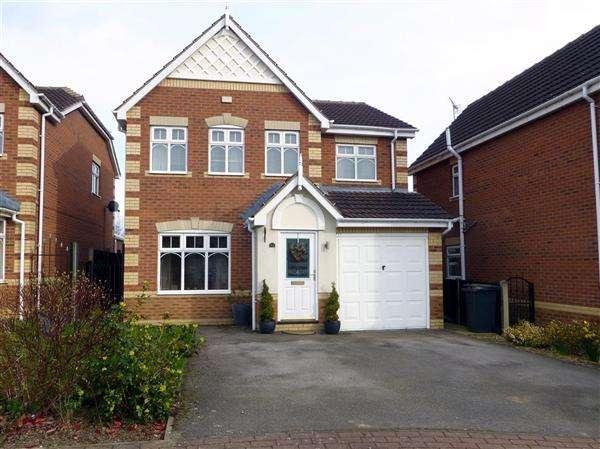 4 Bedrooms Detached House for sale in Mckenzie Way, Kiveton Park, Sheffield