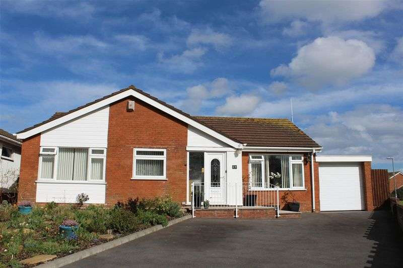 3 Bedrooms Detached Bungalow for sale in Powis Close, Weston-Super-Mare