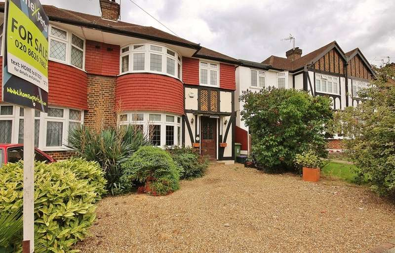 3 Bedrooms Semi Detached House for sale in Wolsey Crescent, Morden, SM4