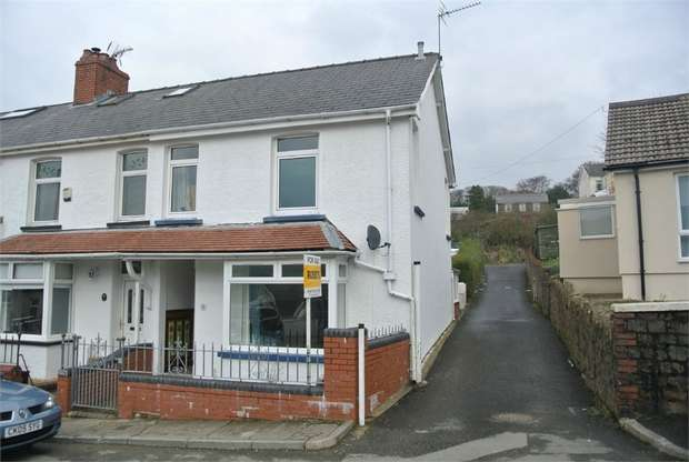3 Bedrooms End Of Terrace House for sale in Gladstone Terrace, Blaenavon, Pontypool