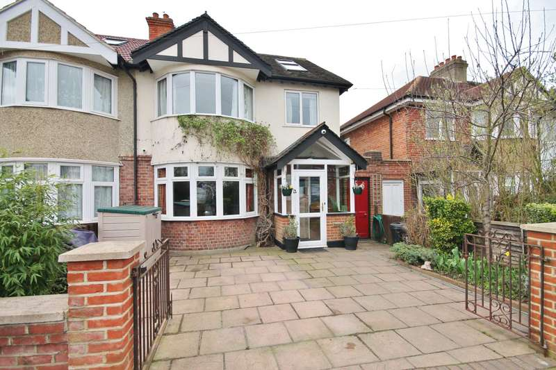 4 Bedrooms Semi Detached House for sale in Westbury Road, New Malden