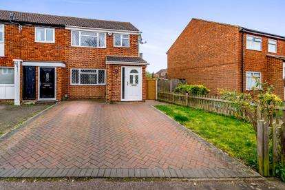 3 Bedrooms Semi Detached House for sale in Hillgrounds Road, Kempston, Bedford, Bedfordshire