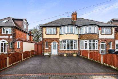 3 Bedrooms Semi Detached House for sale in Beeches Drive, Erdington, Birmingham, West Midlands