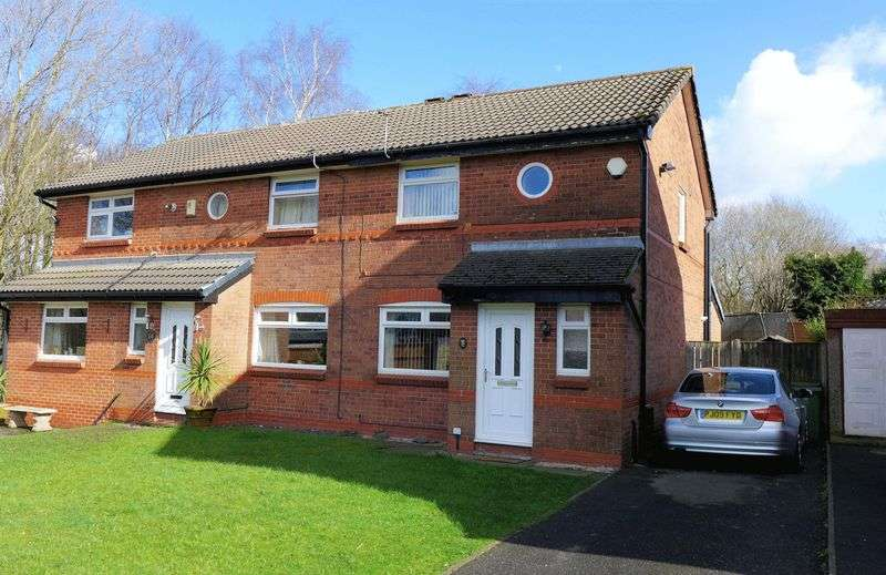 2 Bedrooms Semi Detached House for sale in Ashby Close, Farnworth, Bolton