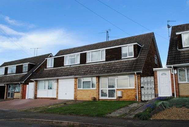 4 Bedrooms Semi Detached House for sale in Grasscroft, Kingsthorpe, Northampton NN2 8QL