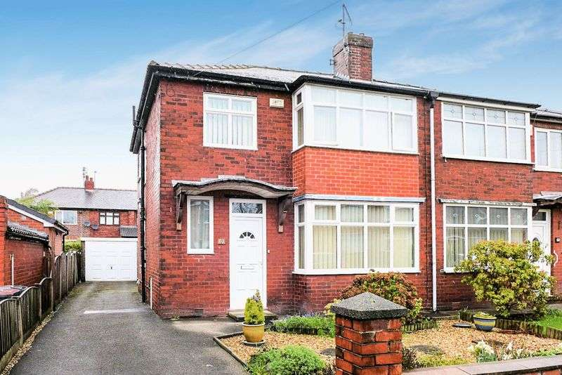 3 Bedrooms Semi Detached House for sale in Normanby Road, Worsley