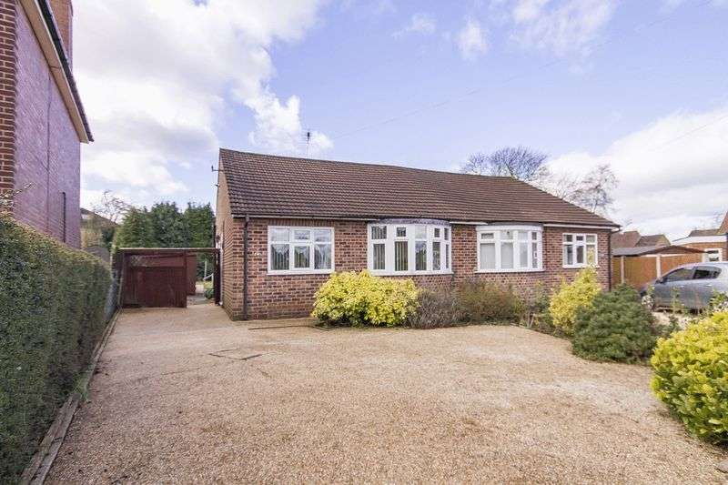 2 Bedrooms Semi Detached Bungalow for sale in HARTINGTON WAY, MAICKLEOVER