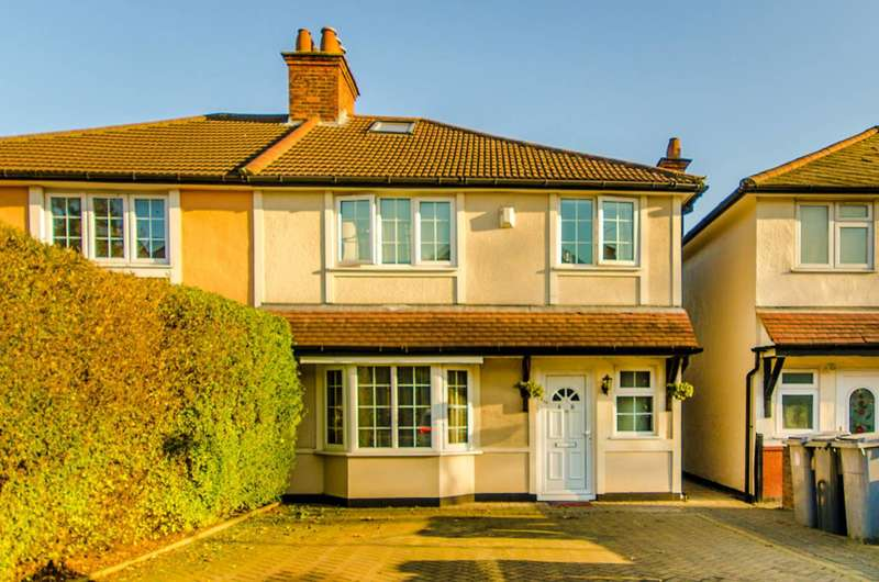 2 Bedrooms Flat for sale in Chalfont Avenue, Wembley, HA9