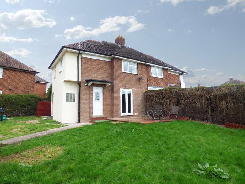 3 Bedrooms Semi Detached House for sale in Princess Avenue, College Estate, Hereford