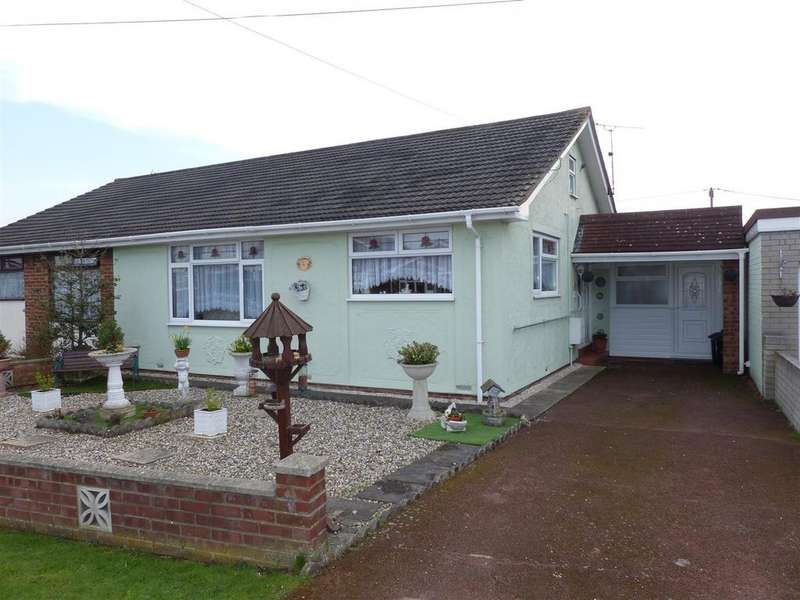 2 Bedrooms Semi Detached Bungalow for sale in Hernen Road, Canvey Island