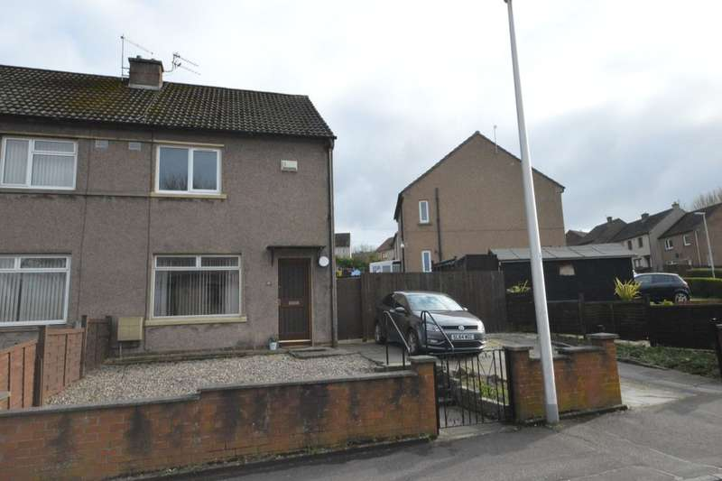 2 Bedrooms Semi Detached House for sale in Clunie Road, Dunfermline, KY11