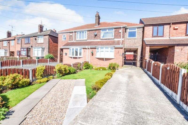 3 Bedrooms Semi Detached House for sale in Sandringham Avenue, Whiston
