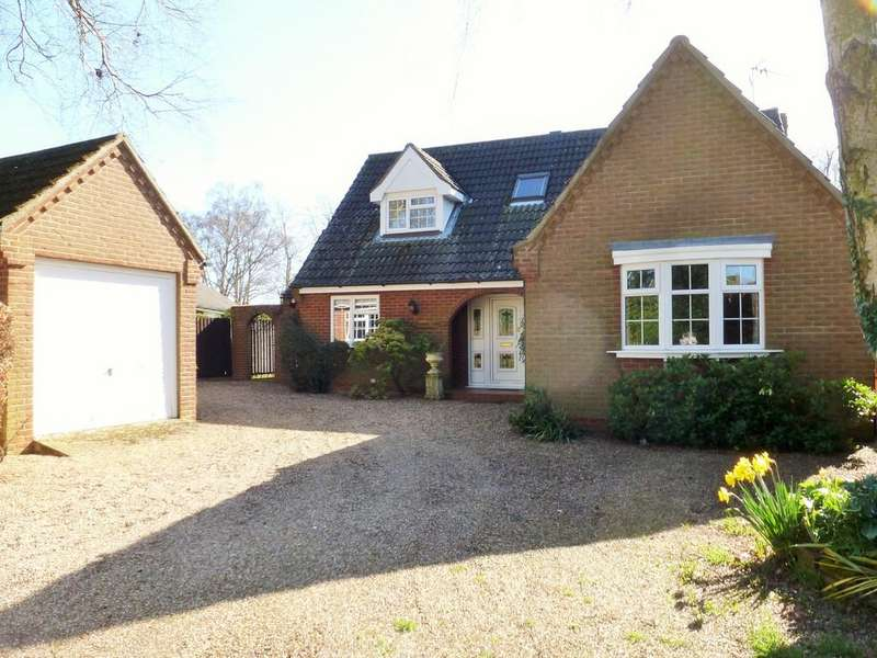 4 Bedrooms Detached Bungalow for sale in North Walsham, Norfolk