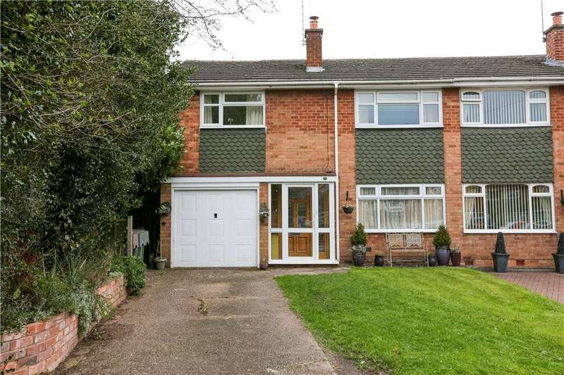 3 Bedrooms Semi Detached House for sale in St. Godwalds Crescent, Aston Fields, Bromsgrove, B60