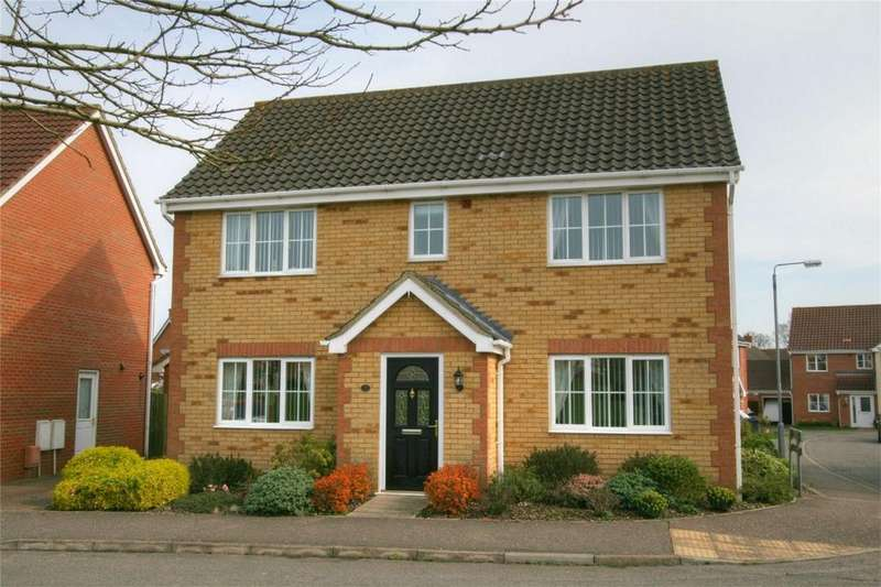 4 Bedrooms Detached House for sale in Lomond Road, Attleborough, Norfolk
