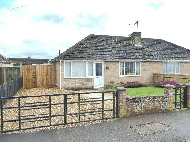 2 Bedrooms Semi Detached Bungalow for sale in Harrowby Road, Banbury