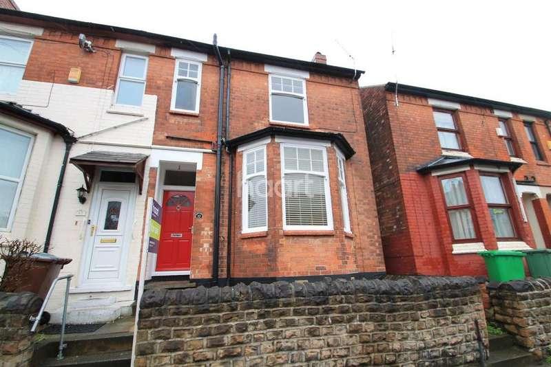 3 Bedrooms Semi Detached House for sale in Bute Avenue, Lenton